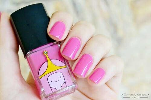 princess bubblegum nail polish
