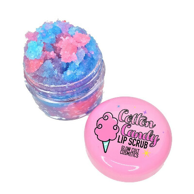 Rainbow Cotton Candy Lip Scrub