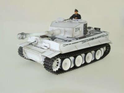 радиоуправльаемый  танк