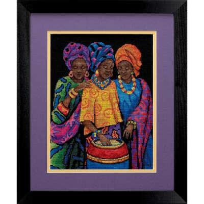 """Набор для вышивки """"Африканские девушки"""""""