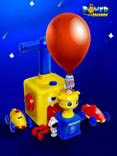 Машина на шаре Power Balloon Car с космической станцией, ракетой и космонавтом. Bob-Toys https://wildberries.ru/catalog/18476669/detail.aspx