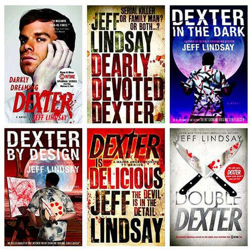 Прочесть всю серию книг Декстер