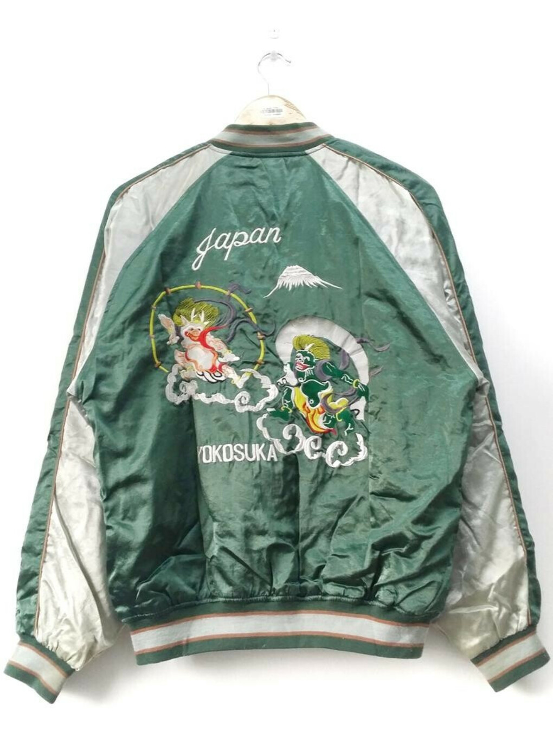 Какой-нибудь Sukajan Bomber Jacket