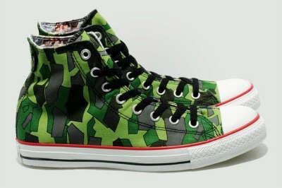 Converse Gorillaz Camo Sneakers