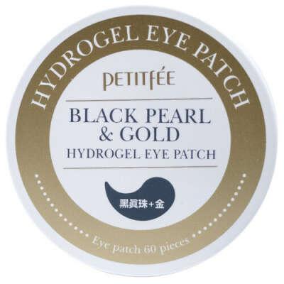 Petitfee Гидрогелевые патчи под глаза с золотом и пудрой черного жемчуга купить по цене от 1282 руб в интернет магазине SEPHORA   801820