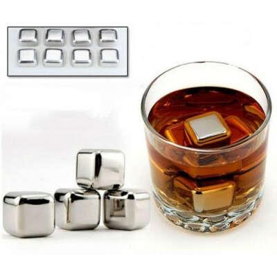 Металические кубики для виски