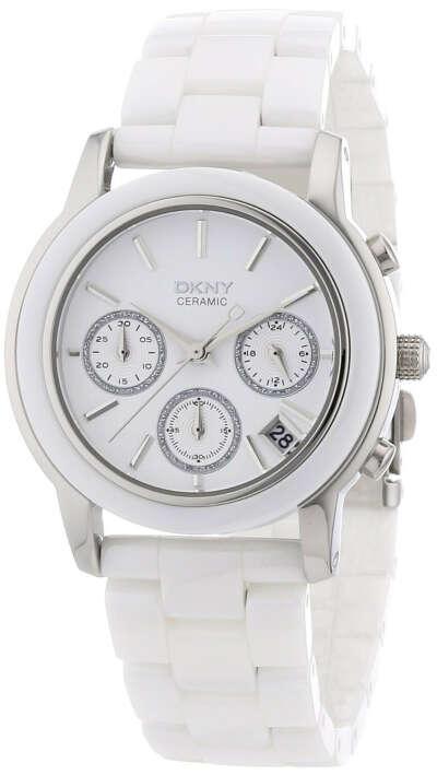 Наручные белые часы dkny