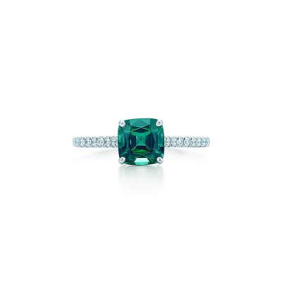 Tiffany & Co. -  Tiffany Legacy®:Green Tourmaline Ring