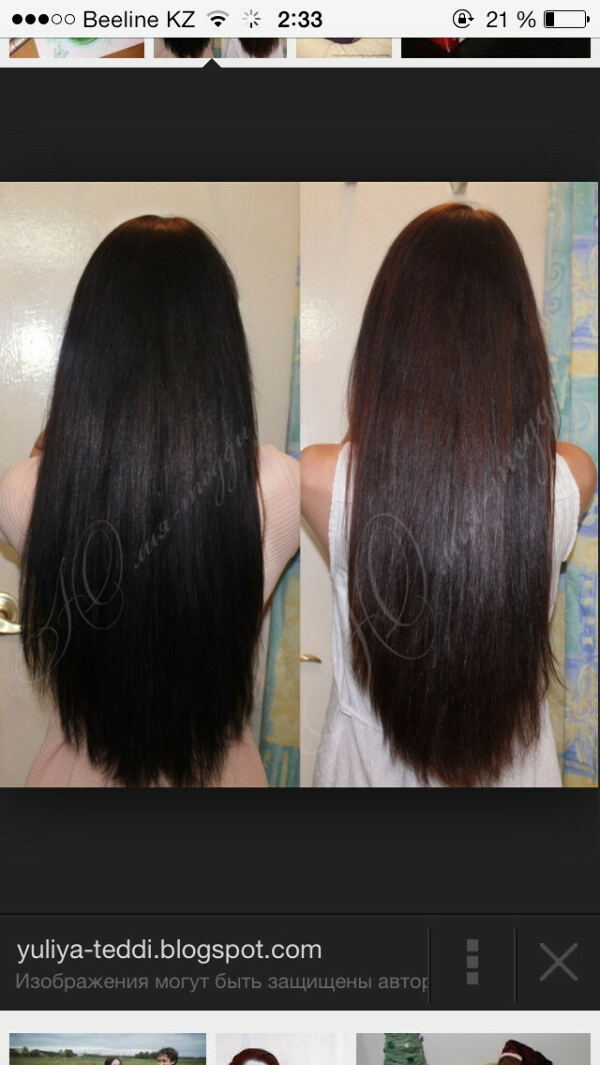 Отрастить Длинные густые здоровые волосы
