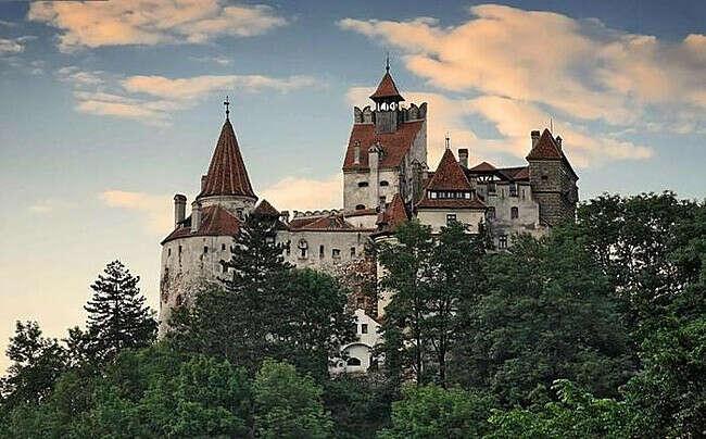 Трансильвания, замок графа Дракулы