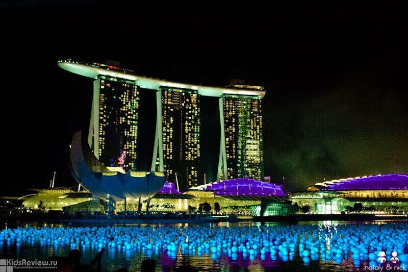 Отдохнуть в  отели Marina Bay Sands.Сингапур