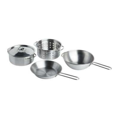 ДУКТИГ Набор кухонной посуды, 5 предм.   - IKEA