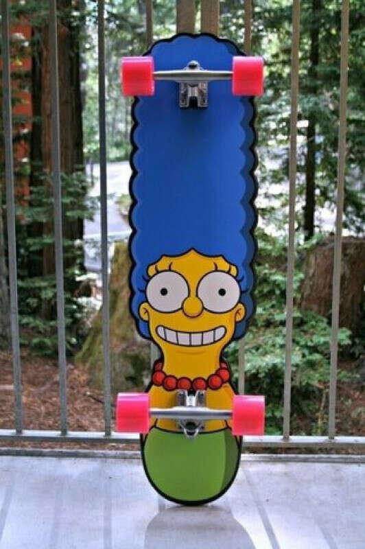 """Скейтборд """"Marge Simpson"""""""