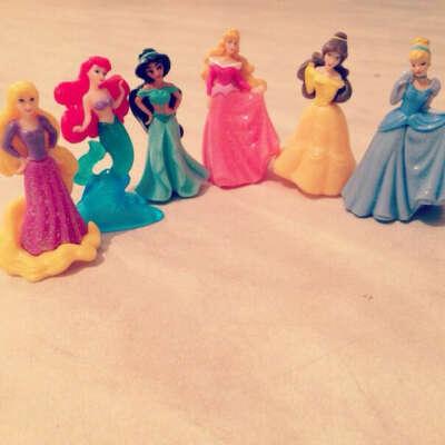 собрать всю коллекцию принцесс
