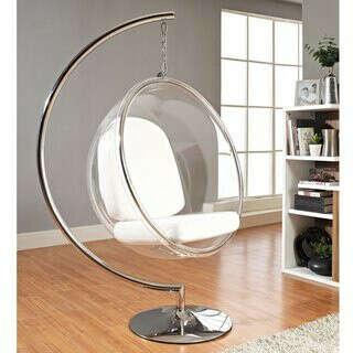 Подвесное кресло-пузырь