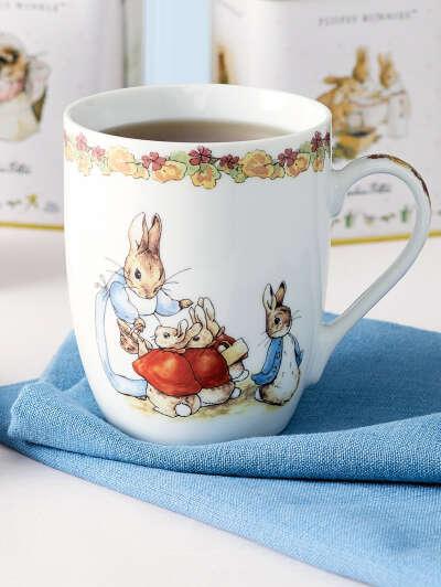 посуда с рисунками Беатрис Поттер