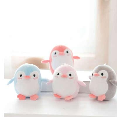 Пингвин, плюшевый брелок, игрушки, Мультяшные животные, кукла, модная игрушка для детей, милые девочки, Рождественский подарок на день рождения|Плюшевые брелки|   | АлиЭкспресс