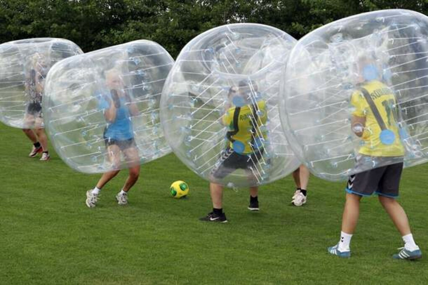 Сыграть в бампербол