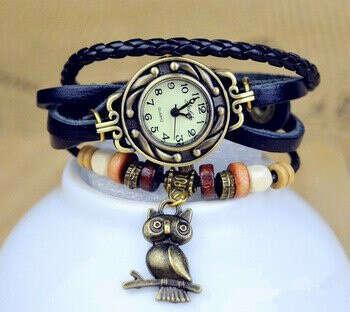 Часы с совой