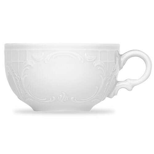 Сервиз чайный на 8 персон, цвет белый, серия Mozart, BAUSCHER, Германия