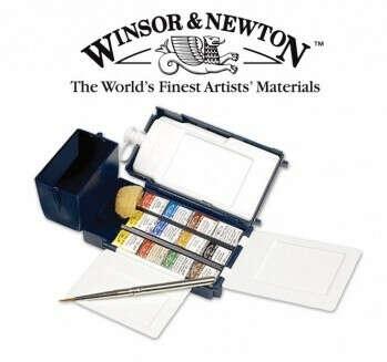 Акварельные краски Winsor & Newton Professional Water Colour Field Box Отзывы: