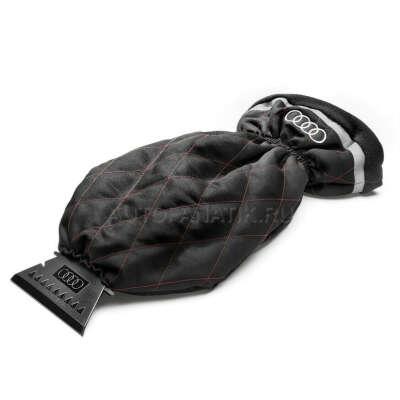 Cкребок с перчаткой Audi Ice Scraper with Glove, Red/Black, артикул 80A096010D