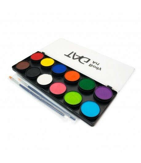 Аквагрим TAG Набор регулярные цвета 12