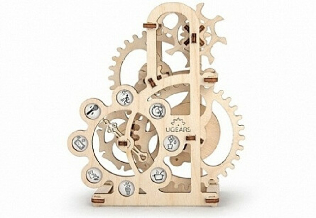 3D-пазл UGears Силомер (Dynamometer)