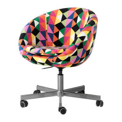 СКРУВСТА разноцветное кресло - IKEA