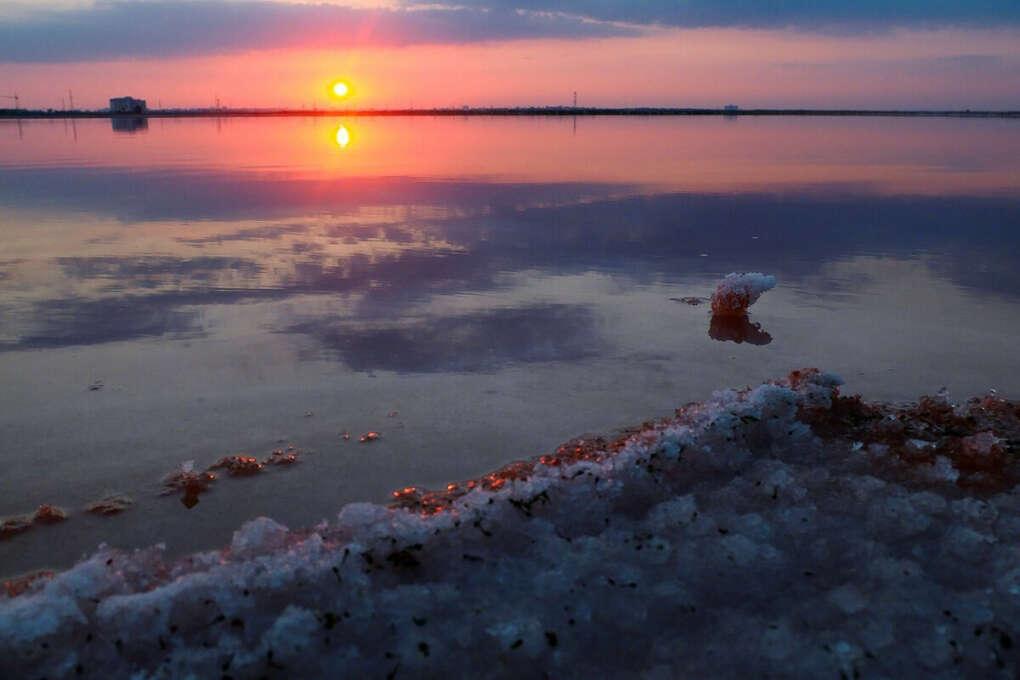 На озеро Сасык-Сиваш