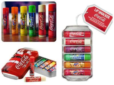 Бальзамы Coca-Cola Lip Smacker