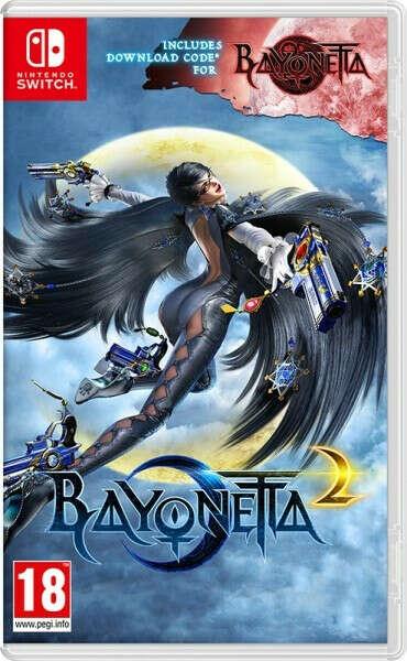 Bayonetta 2 + DCC Bayonetta 1 [Switch]