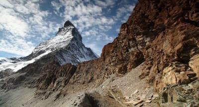 Гора Маттерхорн Альпы, Швейцария