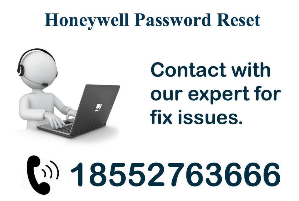 Honeywell Password Reset ? Dial 1-855-276-3666
