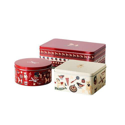 Печенье в жестяной коробке :)