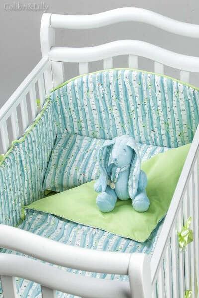 Набор постельного белья в стиле colibri&lilly в детскую кроватку