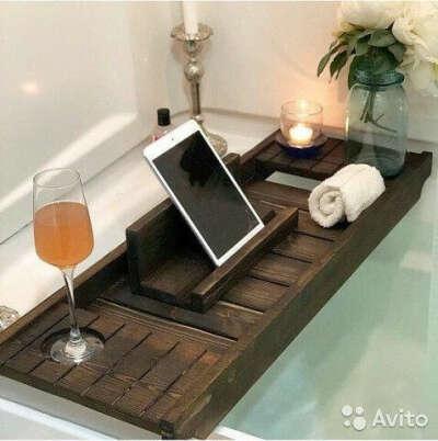 Полочка-столик для ванной