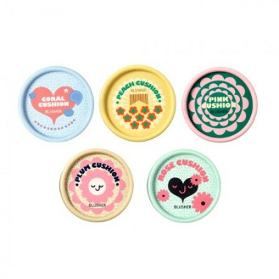 Румяна The Face Shop Lovely Meex Pastel Cushion Blusher