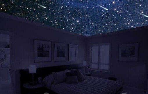 Небесный свод над кроватью