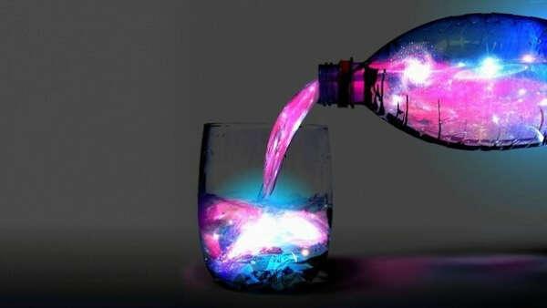 Сделать светящуюся воду