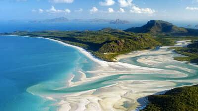 Побывать на пляже Whiteheaven, Австралия