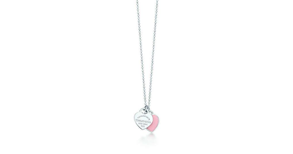 Tiffany & Co. -  Return to Tiffany™: миниатюрная двойная подвескав форме сердца