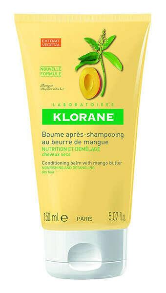 Питание и защита. Бальзам-ополаскиватель с маслом манго для сухих и поврежденных волос