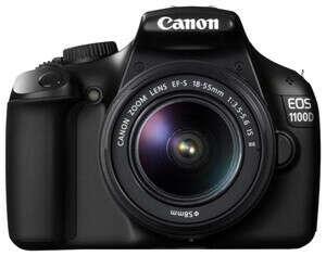 Зеркальный фотоаппарат Canon 1100D Kit EF-S 18-55 IS