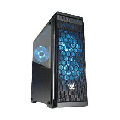 Корпус для компьютера Cougar MX330-G Black w/o PSU