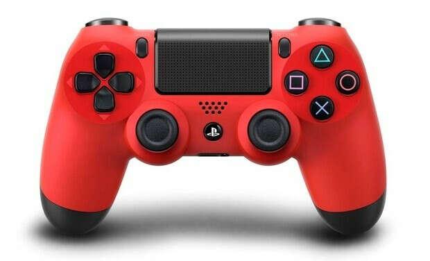 DualShock 4 (Red)