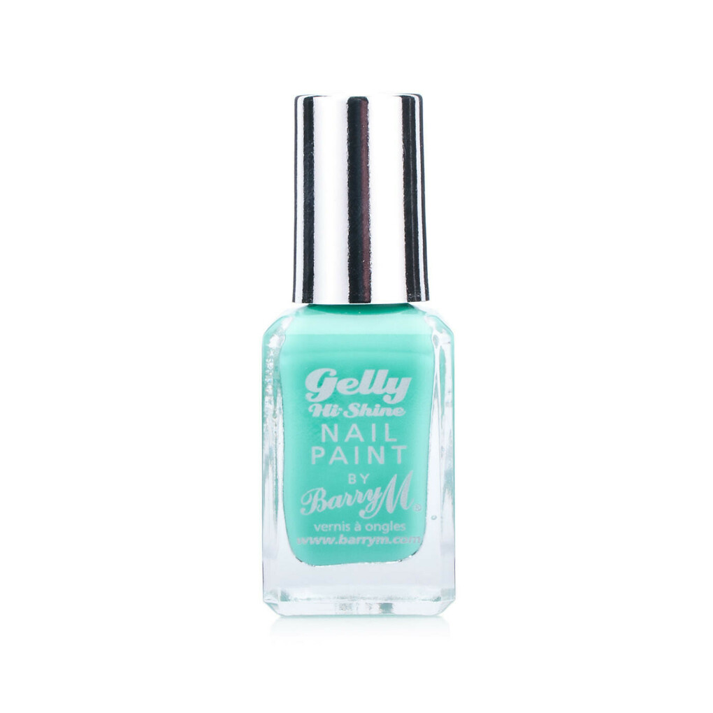Barry M Gelly Nail Paint Greenberry