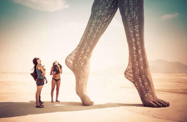 Burning Man festifal, USA