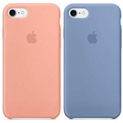 (Copy) Оригинальный силиконовый чехол для Apple iPhone 7 / 8 (4.7