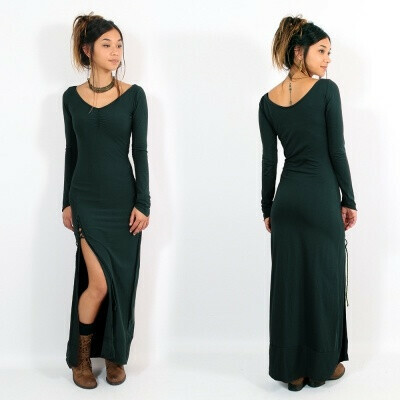 """Aryäa"" dress, Peacock teal"